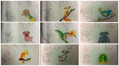 Kids friendly drawings