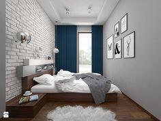 Mieszkanie - 57 m2 - Sypialnia, styl nowoczesny - zdjęcie od BIG IDEA studio projektowe