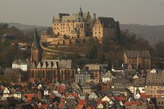 Marburg Castle, Marburg Germany. Photo by solar.empire