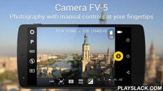 Camera FV-5 Lite  Android App - playslack.com , Camera FV-5 is a professional camera application for mobile devices, that puts DSLR-like manual controls in your fingertips. Tailored to enthusiast and professional photographers, with this camera application you can capture the best raw photographs so that you can post-process them later and get stunning results. The only limit is your imagination and creativity!Major features:● All photographic parameters are adjustable and always at hand…