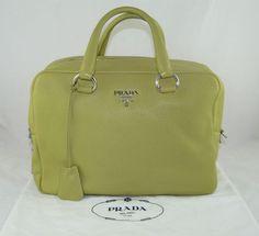 e91f80a1d16b61 pranda bag - Authentic Prada Nylon Tote Satchel Purse Handbag Shoulder Bag  . ...