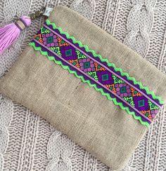 Sac à main embrayage boho ethnique embrayage embrayage chic