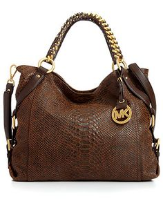 MICHAEL Michael Kors Handbag, Tristan Large Tote - Tote Bags - Handbags & Accessories - I love this!