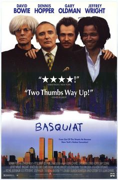 David Bowie in Basquiat movie posters - Google Search