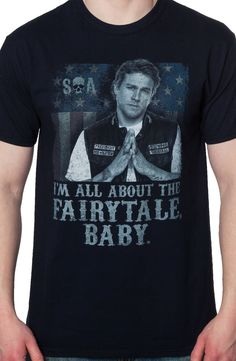 Fairytale Baby Jax Teller Shirt: Sons Of Anarchy Mens T-shirt