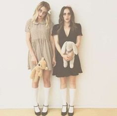 Stylish Halloween Costume Ideas to Steal from Your Favorite Celebs Celebrity Halloween Costumes, Halloween Doll, Easy Halloween Costumes, Costume Ideas, Teen Guy Fashion, Halloween Celebration, Halloween Disfraces, Lauren Conrad, Dress To Impress