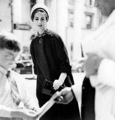 vintage everyday: Beautiful Black-and-White Fashion Photography by Eugene Vernier from between the 1950s and 1960s