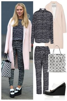 A chic look to keep warm in winter's icy temps