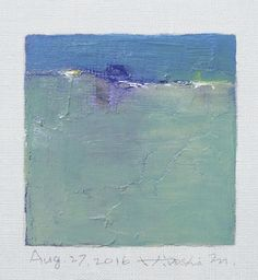 Aug. 27 2016 Original Abstract Oil Painting by hiroshimatsumoto