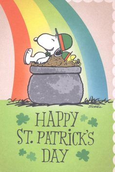 St Patrick's Day Snoopy