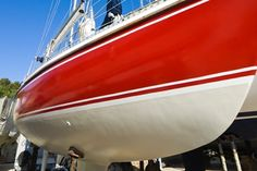 Ever thought about painting the hull of your boat with your own two hands? It's actually not as ridiculous as it sounds. Six simple steps can repair your boat hull to brand new. Take a moment and do it yourself.