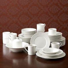 Pfaltzgraff Traditions Weave Dinnerware Set, 40 Piece, Service for 8 by PFALTZGRAFF, http://www.amazon.com/dp/B004GIHJGU/ref=cm_sw_r_pi_dp_igGgrb1DNHETE