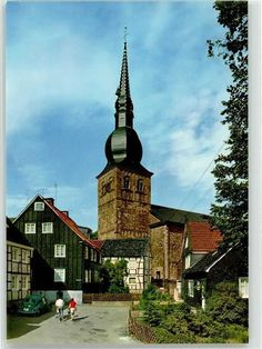 51852364 - 5632 Wermelskirchen Kirche | Sammeln & Seltenes, Ansichtskarten, Deutschland | eBay! Kirchen, Mansions, House Styles, Ebay, Home Decor, Germany, Mansion Houses, Decoration Home, Manor Houses