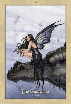 Blue Angel Publishing - Oracle of the Dragonfae - Lucy Cavendish