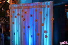 #strumfi #colț foto #smurfs #photo corner Smurfs, Corner, Curtains, Home Decor, Homemade Home Decor, Blinds, Interior Design, Draping, Decoration Home