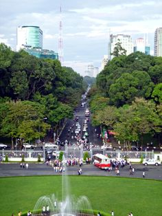 View from Vietnam's Reunification Palace, Ho Chi Minh City