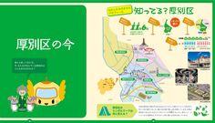 Points of Atsubetsu,Sapporo,Hokkaido