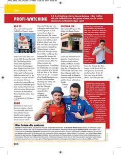 Titelgeschichte zur EM 2012, erschienen in PRINZ Düsseldorf 06/2012, Seite 3/9