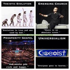 False Teachings....the Bible plainly refutes each of these false teachings!