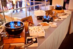 Smores bar, wedding dessert table, Oklahoma City wedding