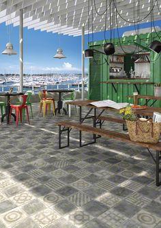 Carreaux ciment / idée déco / authentiques / Aménagement / Revêtement  SHOWROOM STRASBOURG - MEINAU  www.strasbourgcarrelage.com