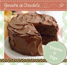 Las Cosas Ricas de Gaby!: Ganache de Chocolate... la crema perfecta!