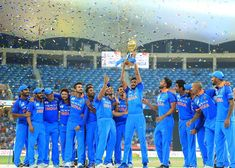 Khaleel Ahmed was in awe when MS Dhoni asked Rohit Sharma to hand over the Asia Cup trophy to the young pacer. Cricket Time, Cricket Sport, Cricket World Cup, Premier League, Asia Cup 2018, Indian C, Cricket Quotes, India Cricket Team, World Cup Trophy