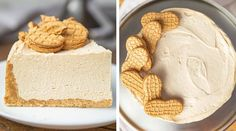 Peanut Butter Pie w/ Nutter Butter Crust Whipped Peanut Butter, Classic Peanut Butter Cookies, Nutter Butter Cookies, Butter Crust, Butter Pie, Inventor Of Peanut Butter, Chocolate Graham Cracker Crust, Easy Pie Recipes, Peanut Recipes
