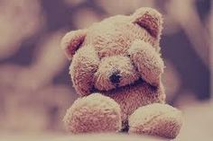 A Teddy bear never sees your faults or flaws!