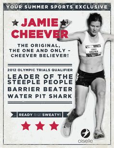 Jamie Cheever. Leader of the Steeple People. #Rule40 campaign approved.