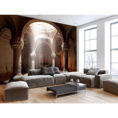 Fototapete Old Temple Home Bedroom, Bedroom Decor, Wall Decor, Modern Wallpaper, Wall Wallpaper, Bedroom Wallpaper, False Wall, Convertible Furniture, Mural Wall Art