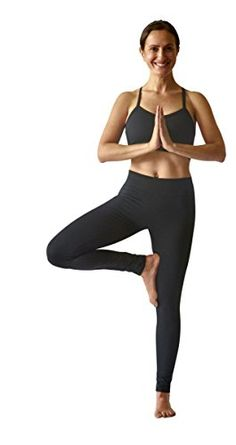 8597ca53f39ff SteelCore Womens Straight Waist Leggings Medium Black     Amazon most  trusted e-retailer. Happy Fitness · Yoga Wear