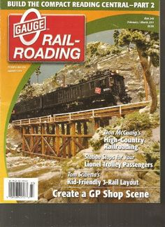 O Gauge Railroading Magazine (Create a GP Shop Scene, February March 2011) by Various http://www.amazon.com/dp/B004QL069O/ref=cm_sw_r_pi_dp_cLQsub0G1XE2V