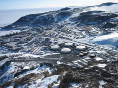 mcmurdo research station, Antarctica