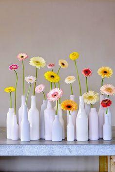 Le Frufrù: Gerbere. Riqualificazione di un fiore.