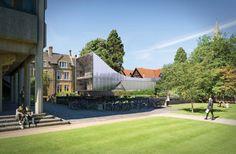 Nueva biblioteca en St. Antony's College en Oxford