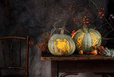 Magical decoration ideas with pumpkins Magical decoration ideas with pumpk … Pumpkin Carving, Vegetables, Painting, Pumpkins, Art, Ideas, Creative Ideas, Decorating Ideas, Carving Pumpkins