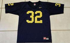 Vintage NIKE Michigan Wolverines #32  Football Jersey Men's Large  #Nike #MichiganWolverines