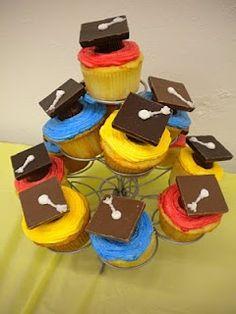 preschool graduation...thinking about making these to celebrate Josh's preschool graduation! :)