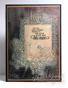 Mama Dini's Stamperia: DT Thursday: Gilded Relief technique