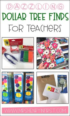 Dollar tree finds are always awesome for the classroom! Especially during back to school time! Classroom Hacks, Classroom Organisation, Teacher Organization, Teacher Hacks, Kindergarten Classroom, Classroom Management, Teacher Stuff, Organized Teacher, Organizing Life