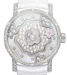 """Chaumet Hortensia Creative Complication - Ariel @ Centurion """"'Hortensia' – derived from the term 'horticulture' – is the name for a new watch and jewellery collection from French brand Chaumet... At the top of the timepiece collection [is] a new model that leverages one of the most unique mechanical watch movements..."""" then see more Chaumet that we've covered: http://www.ablogtowatch.com/watch-brands/chaumet/ & more Ladies' Watches here: http://www.ablogtowatch.com/tag/ladies-watches/"""