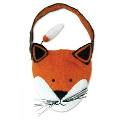 Finlay Fox | Felt Animal Bags by Sew Heart Felt