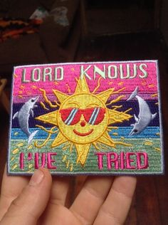 Lord knows i've tried patch Band Patches, Pin And Patches, Iron On Patches, Jacket Patches, Flag Patches, Fade Styles, Patched Jeans, Fabric Patch, Crowley