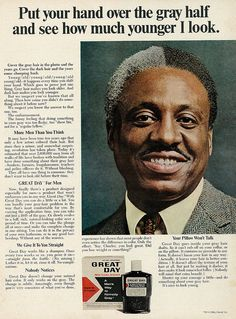 1967 Ad, Clairol Great Day for Men, Covers Gray Hair
