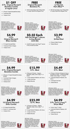 Dominos coupons get 50 off at dominos pizza with the latest pinned august 23rd 2pc chicken potatoes cole slaw biscuit under 5 bucks and more at kfc coupon via the coupons app fandeluxe Image collections