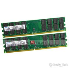 New SAMSUNG 8GB 2x4GB PC2-6400 DDR2-800 240pin DIMM Desktop Memory For AMD CPU #Samsung