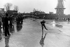 Elfstedentocht Dokkum (jaartal: 1980 tot 1990) - Foto's SERC