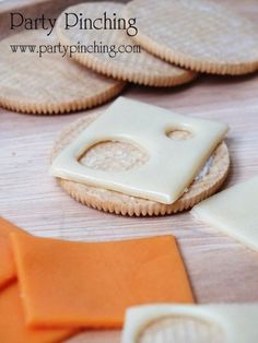 Party Planning - Party Ideas - Cute Food - Holiday Ideas -Tablescapes - Special Occasions And Events - Party Pinching - April Fools' Cheese
