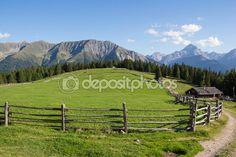 #Cottages At #Wiesner #Alp 1.945m In #Davos #Wiesen #Graubuenden #Switzerland #View In #Summer @depositphotos #depositphotos #nature #landscape #mountains #hiking  #travel #summer #season #sightseeing #vacation #holidays #leisure #outdoor #view #wonderful #beautiful #panorama #stock #photo #portfolio #download #hires #royaltyfree